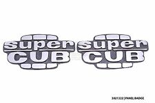 New side cover panel sticker emblem Super Cub badge logo for Honda C50 C70 C90