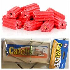 1.8kg Ditrac Block rodent mice mouse bait With 1 Free Rat Trap