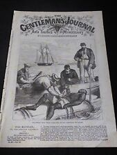 'The Gentlemans Journal & Youths  Miscellany ' No 87 Vol III, 1869-72