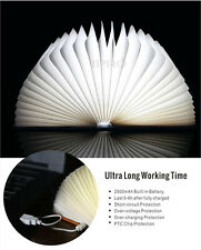 4Colors Flash Change Book Lamp Lumio-Style LED FOLDING BOOK LAMP Romatic Gifts