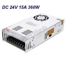 MW High Quality 24V 15A 360W DC Regulated Switching Power Supply CNC