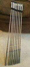 set of golf clubs mizuno t-zoid pro irons 9-pw