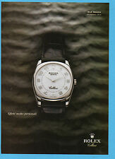 BELLEU004-PUBBLICITA'/ADVERTISING-2004- ROLEX modello DANAOS - ROLEX CELLINI