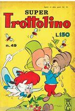 SUPER TROTTOLINO N. 49 del 1964 Edizioni Bianconi (con storia di GEPPO)