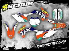 SCRUB KTM graphics decals kit SX 85 2013 2014 2015 stickers MOTOCROSS