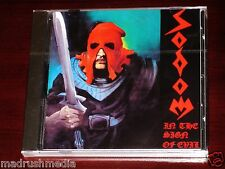 Sodom: In The Sign Of Evil / Obsessed By Cruelty CD Steamhammer SPV 85-7533 NEW