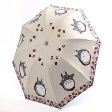 Totoro Umbrella Female Umbrella For Women Parasol Anime Folding Umbrellas Rain