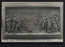 582-PARIS -1863 Bas-relief de la Statue de la République (11 juillet 1792