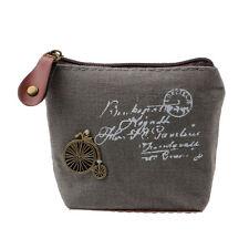 Casual Women Girl Retro Coin Bag Purse Wallet Card Case Handbag Fast Shipping #