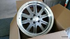 "17x8 "" AMERICAN RACING 527 SHELBY COBRA WHEELS FORD MUSTANG MOPAR MERC w/lugs"