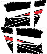Pro Armor Door Graphics Kit Polaris RZR XP 900 Walker Evans Edition 2013 No Cuts