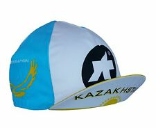 Cycling Cap ASSOS Kazakhstan Made In Italy 100% Cotton Light Weight Racer Retro