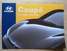 HYUNDAI COUPE 1998 UK Mkt sales brochure