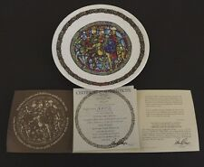 Collectible Limoges France Porcelain Plate AR692 The Glory Of God Plate