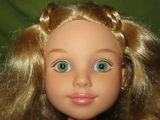 """MGA 2009 Best Friends Club 18"""" Jointed NUDE DOLL Green Eyes Blonde Hair KAITLIN"""