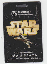 2013 SDCC COMIC CON DROPCARDS STAR WARS ORIGINAL RADIO DRAMA PROMO CARD