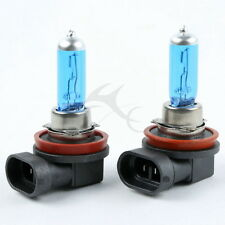 2 pcs H8 12V 35W Super white Halogen Headlight Replacement Bulb Lamp For Cars