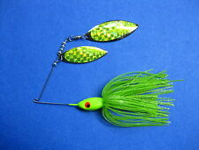 1/2 oz. Spinner Bait Green Chart  fishing lure bass R