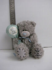 Me to you - Tatty Teddy Bear Plush Soft Toy Grey with Balloon - 5""