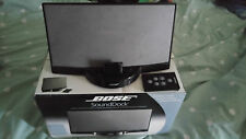 Bose docking station with Remote Control and Bluetooth adaptor