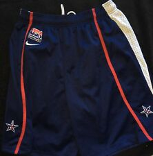 USA 2008 Olympics Redeem Team Basketball Shorts Nike Medium Kobe Bryant NBA ����
