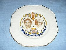 Liverpool Rd. Pottery LTD. 1981 Prince Henry & Princess Diana Collector Plate