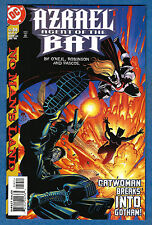 AZRAEL Agent Of The Bat # 59 - 1999 DC  (vf-) No Man's Land  - Batman - Catwoman