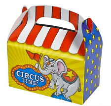 36 CIRCUS PARTY TREAT BOXES FAVORS GOODY BAGS CARNIVAL PRIZE GIFT BASKET BAZAAR