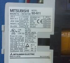 Mitsubishi SD-N11 Magnetic Contactor (Quantity Available) BH712Y913H01