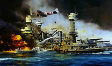 Morning Thunder Artist Proof by Robert Taylor Pearl Harbor Zero 8 signers