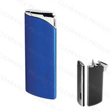 Vector KGM Supra Windproof Jet Torch Flame Butane Gas Lighter - Sparkle Blue