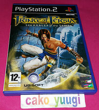 PRINCE OF PERSIA LES SABLES DU TEMPS PS2 PLAYSTATION 2 TRES BON ETAT FRANCAISE
