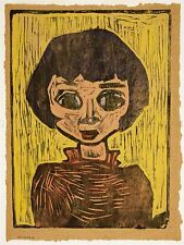 Peintures portrait réfugié enfant Johnson Art Poster Print lv3394