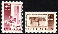 Poland - 1967 Monuments WW II - Mi. 1818-19 MNH