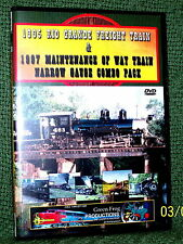"cp089 TRAIN VIDEO DVD ""1995,1997 RIO GRANDE NARROW GAUGE SPECIALS"" 2-DISC"