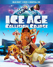 Ice Age: Collision Course (Blu-ray/DVD, 2016) SEALED!