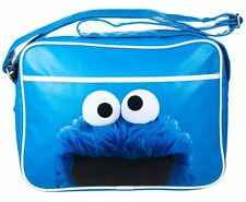 Sesame Street COOKIE MONSTER Over Shoulder BAG School GYM Messenger Bag