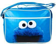Sesame Street COOKIE MONSTER Over Shoulder BAG School GYM Messenger Bag