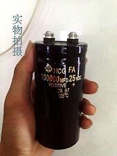 Power Supply Filter Capacitor 25V 100000uF 50*80mm Car Condenser new #J23 lx