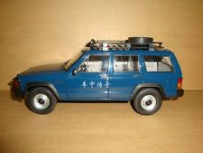 1/18 New China BJ jeep Cherokee 2500 model blue color + gift