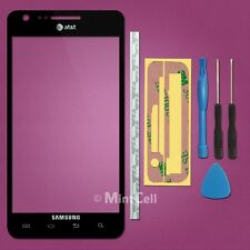 New Black Outer Screen Glass Lens (I777) for Samsung AT&T Galaxy S2 II SGH-I777