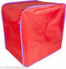 Red Bread Maker Dust Cover Suitable for Kenwood,Panasonic, Andrew James Models