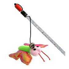 Butterfly Fishing Cat Toy - James & Steel Chasing Pouncing Playing Pet Care