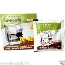 DECALCIFICANTE  MACCHINA DA CAFFE' LAVAZZA SAECO GAGGIA BIALETTI 10 PZ OFFERTA