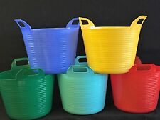 5 X 42L Cheap Garden Tub, Flexible Bucket, Gorilla Bucket, Storage Bucket