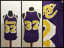 Maglia Nba Basket shirt jersey trikot basketball La lakers Johnson size Young