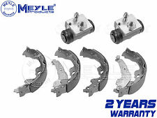 FOR PEUGEOT 107 REAR HAND BRAKE SHOES HYDRAULIC WHEEL CYLINDERS MEYLE GERMANY