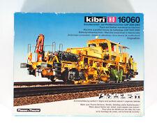 KIBRI HO H0 16060 KIT Track & Ballast maintenance machine UPS 2000 SWS