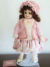 """Franklin Mint -Maryse Nicole """"BEBE STEINER"""" Antique Reproduction Doll 16"""" w/Box"""