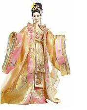 EMPRESS OF THE GOLDEN BLOSSOM Asian Barbie Doll NEW Shipper Gold Label RARE 2008